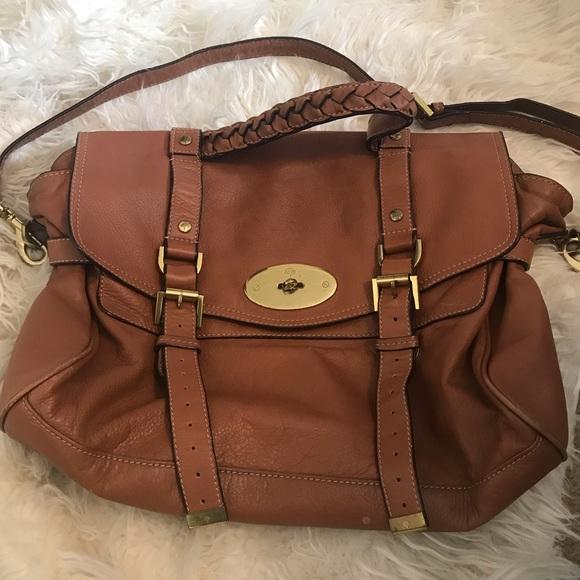 Mulberry handbag Alexa brown